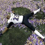 Baltimore Raven Confetti Angel