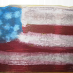 american flag_folk art
